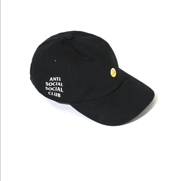 fec774ab5cf Anti Social Social Club HMU Weird Cap Black